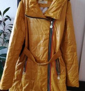 Осеннее пальто для девочки подростка