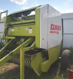 Пресс- подборщик рулонный Claas Rollant 46 б/у