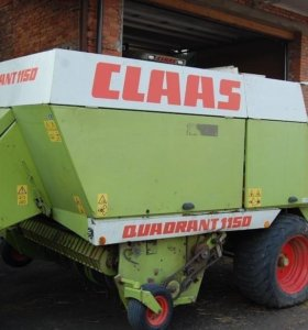 Пресс подборщик Claas quadrant 1150 большие тюки