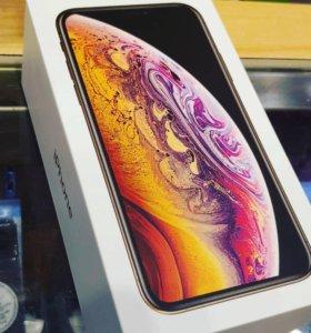 Новый айфон Xs Gold 256GB
