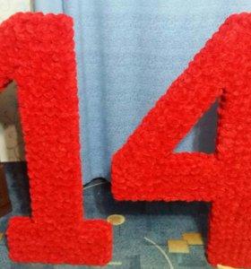 Цифры или буквы для праздника и фотосессий