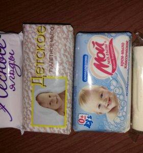 Мыло и крема для защиты