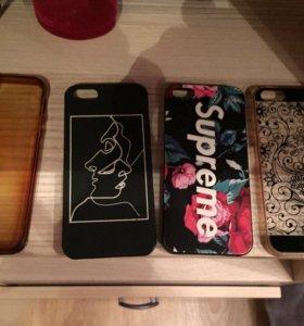 Чехлы на айфоны 4s и 5s