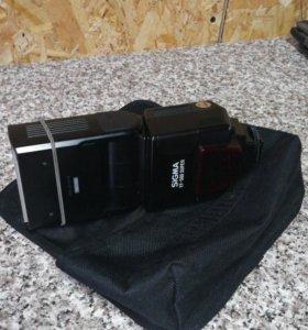 Фотовспышка для Canon sigma ef-500 super