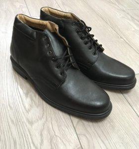 Туфли военные матовые