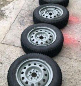 Зимние колеса на штампах
