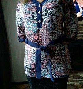 Блузки-батники новые
