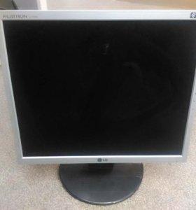 БУ Монитор ЖК 17 уцененный, LG L1753S, серебристый