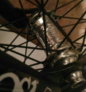 BMX Втулка передняя profile mini хром цвета