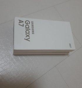 Samsung A7 2017 32г новый