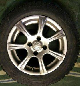 Продам 14 зимние колеса на нексию