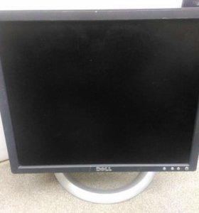 """БУ Монитор ЖК 17"""" уцененный, Dell E176FPc, черный"""