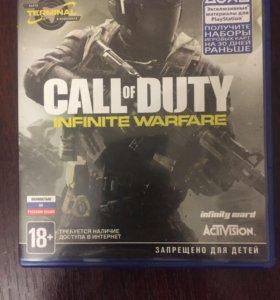 Call of duty infinity warfare на ps 4