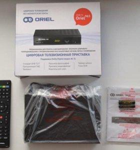 цифровая приставка TV-тюнер Oriel 963 (DVB-T2)