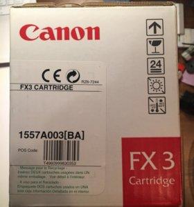Canon Cartridge FX 3 картридж.