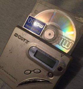 Sony Walkman MiniDisc player