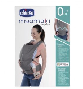 Переноска Chicco Myamaki complete Denim Cyclamen