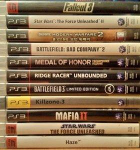 Лицензионные игры для PS3