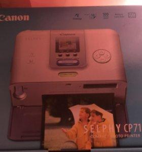 Фото принтер, Canon Selphy CP710