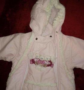 Верхняя одежда Комбинезон для девочки