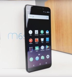 Новые Meizu M6s 32gb (сканер сбоку)