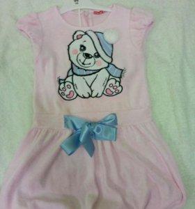 Платье для девочки,р.98-104