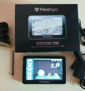 GPS-навигатор GeoVision 5500