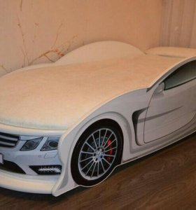 Кровать Машина Мерседес Белый Доставка