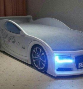 Детская Кроватка Машинка Audi A 5 Доставка