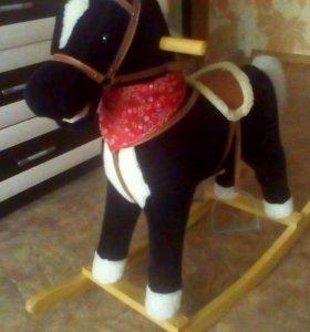 Кочалка конь