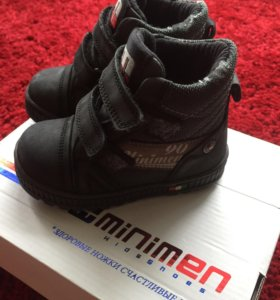 Осенние ботинки Minimen