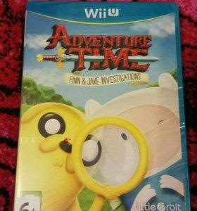 Nintendo Wii U Adventure Time
