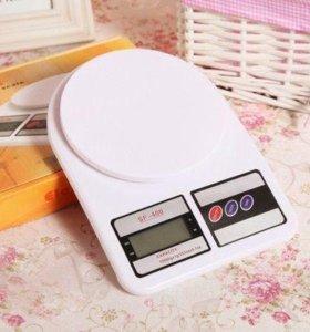 Весы электронные кухонные, новые