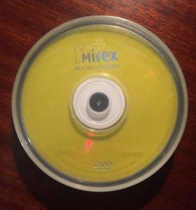 DVD+R диск Mirex 4.7Gb 16x (10шт)
