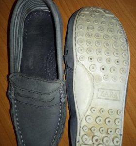 Мокасины zara