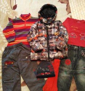 Одежда на осень 3-5лет