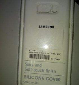 Бампер Samsung s8+