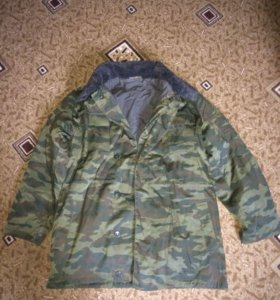 Куртка камуфляжная зимняя
