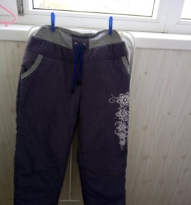 Утеплённые брюки