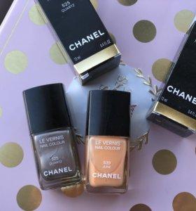 Лак Chanel 525 и Chanel 539