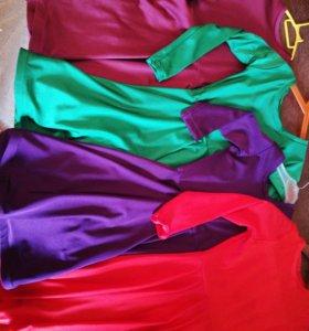 Пошив спортивно-бальных платьев.