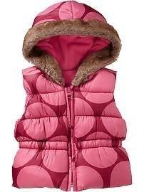 Утепленный жилет #oldnavy для девочки 6-12 месяцев