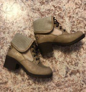 ботинки, р-р 35, 500 р