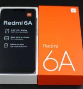 Новые Xiaomi Redmi 6A Global Version. Гарантия.