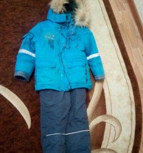 Продам зимний костюм на мальчика