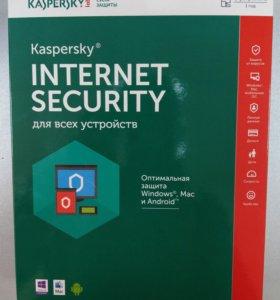 Kaspersky Internet Security на 5 устройств