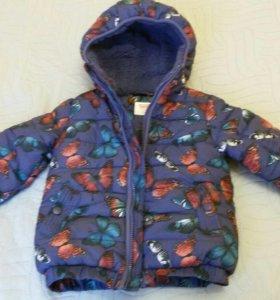 Куртка демисезонная Глория Джинс, на 2-3 года