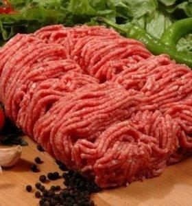 Фарш свино говяжий свежемолотый