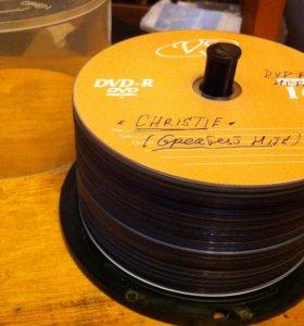 DVD диски с записями (коллекция )