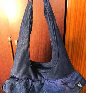 Кожаная сумка, новая